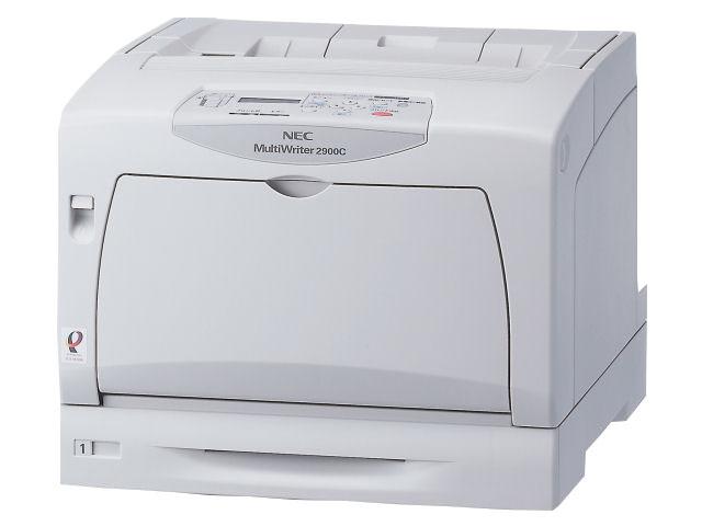 NEC(エヌイーシー) A3カラープリンタ MultiWriter 2900C