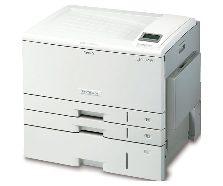 カシオ(Casio) カラープリンタ SPEEDIA GE5000-YPO