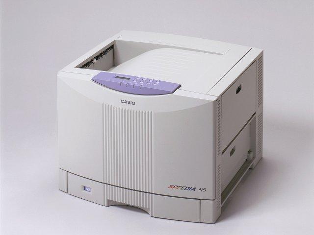 カシオ(Casio) カラープリンタ SPEEDIA N5
