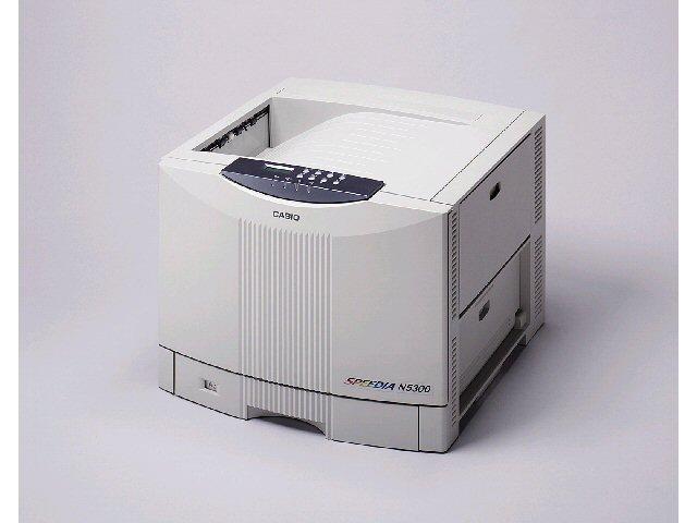 カシオ(Casio) カラープリンタ SPEEDIA N5300