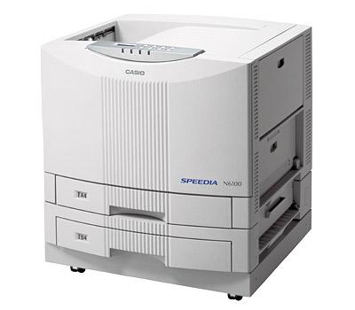カシオ(Casio) カラープリンタ SPEEDIA N6100-SC