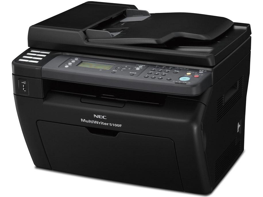 NEC(エヌイーシー) A4モノクロプリンタ MultiWriter 5100F