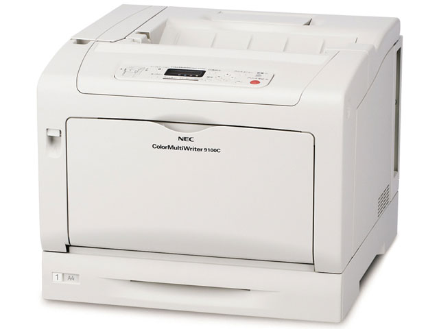 NEC(エヌイーシー) A3カラープリンタ Color MultiWriter 9100C