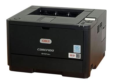 沖データ(OKI) モノクロプリンタ COREFIDO (コアフィード) B431dnB
