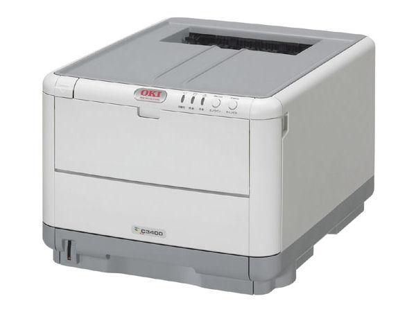 沖データ(OKI) カラープリンタ C3400n