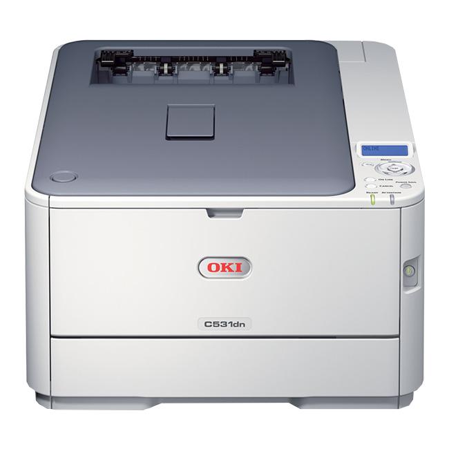 沖データ(OKI) カラープリンタ COREFIDO (コアフィード) C531dn