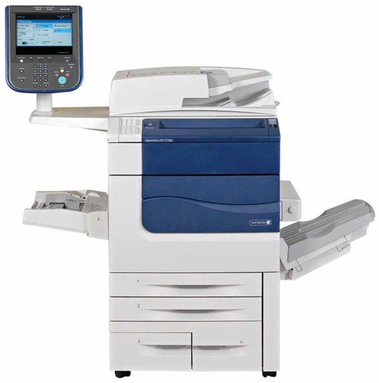ゼロックス(Xerox) 複合機 ApeosPort-IVC7780